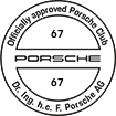 Officially approved Porsche Club 67